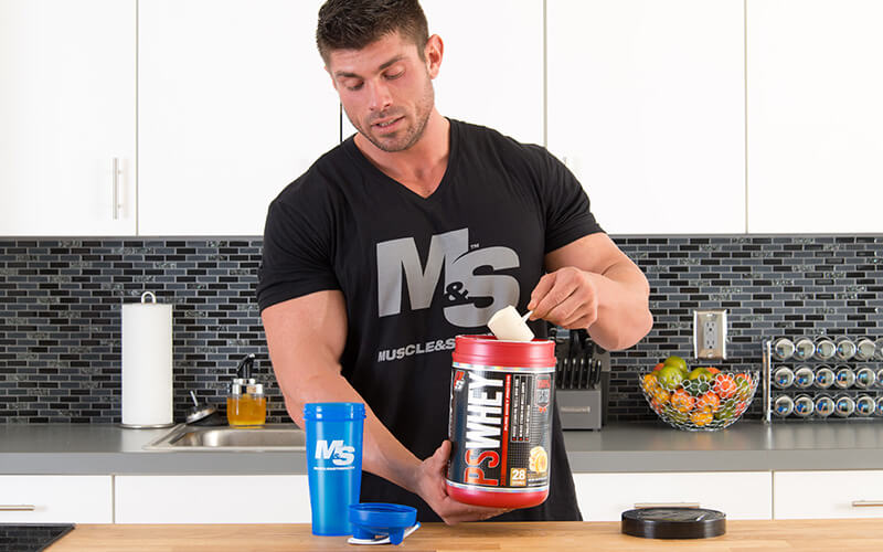Athlete Making sure to prioritize protein for fat loss