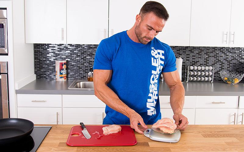 M&S Athlete Prioritizing Protein Intake