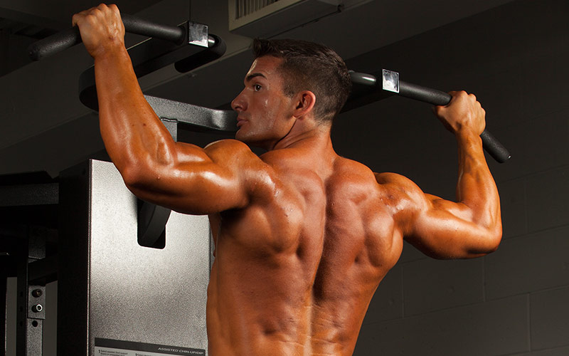 V-taper Workout Pullup