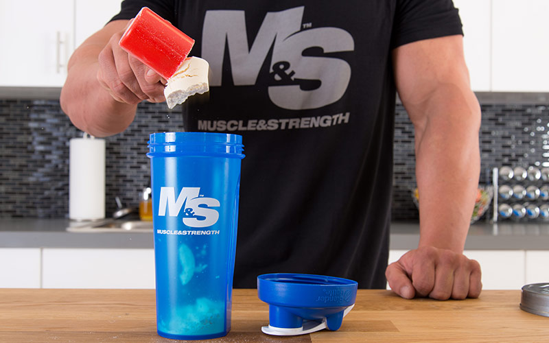 M&S Athlete Scooping Whey Protein
