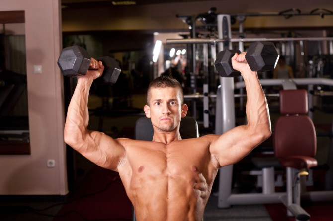Barbell vs. Dumbbell Shoulder Press: Which Builds More Delt Mass? | Muscle  & Strength