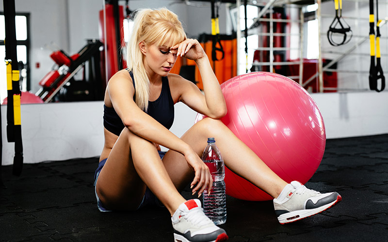 5 Simple and Effective Ways To Lose Muscle: Burnt out