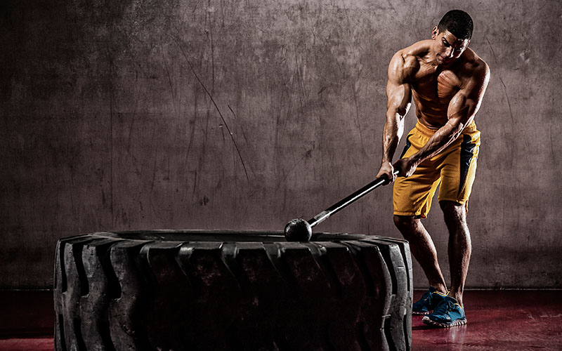 Tabata Home Workout With Sledgehammer