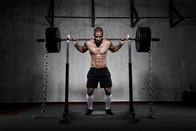 Squats With Chains