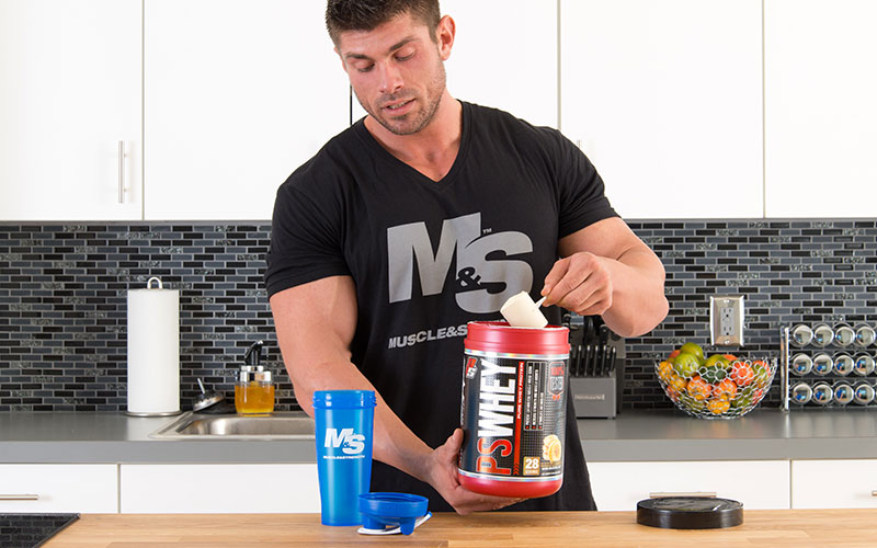 M&S Athlete Nailing his Supplementation