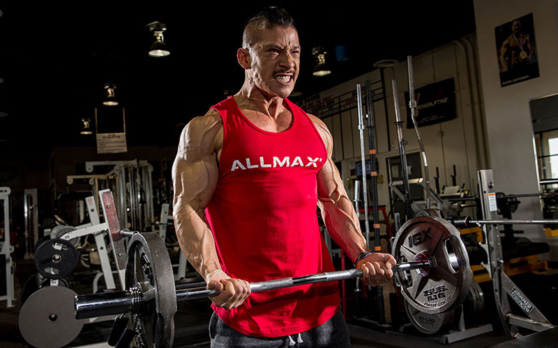 ALLMAX athlete using rep tempo