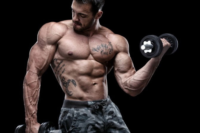 Jacked physique