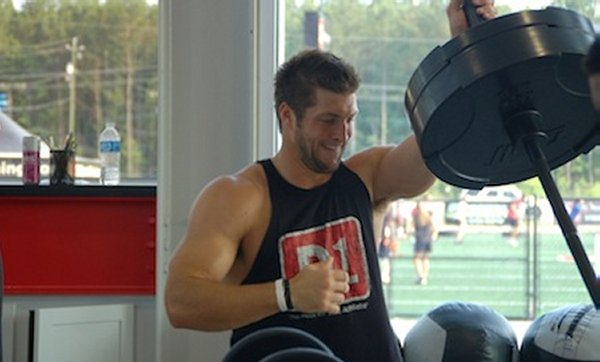 Tim Tebow's Upper Body Muscle Building Workout | Muscle ...