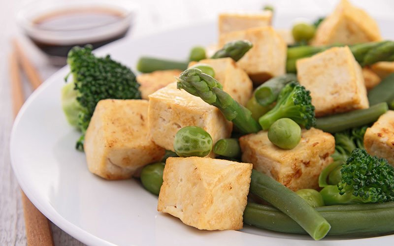 Tofu Meal Perfect for a Vegetarian Meal Prep