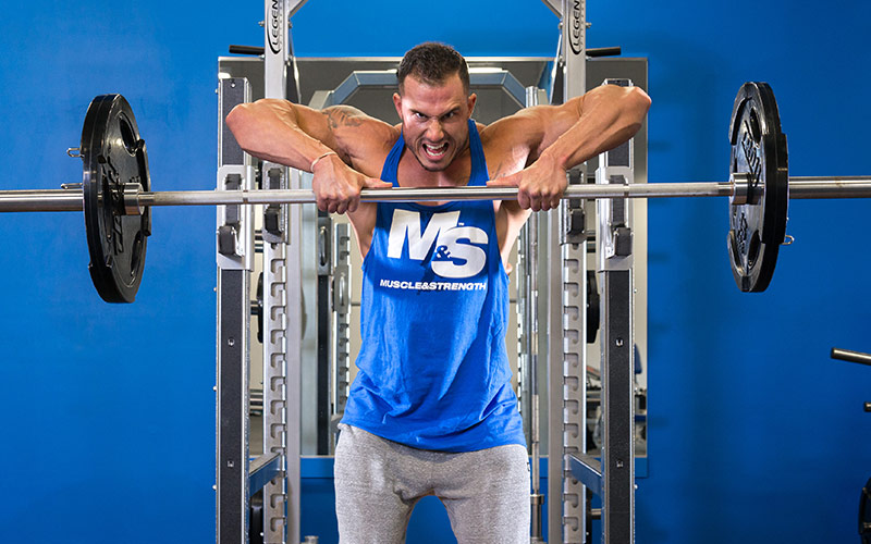 Traps are the New Abs: barbell upright row