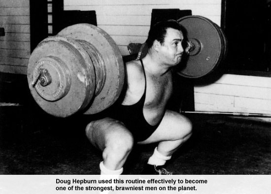 Doug Hepburn Squats