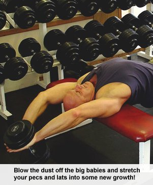 The Dumbbell Pullover for Muscle Mass