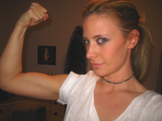 Ashley Schulz Bicep Flex