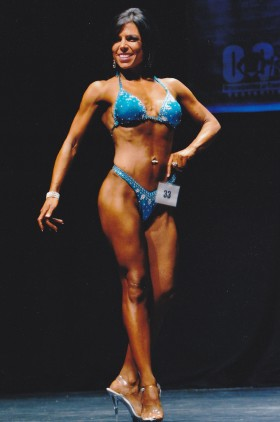 Deana Jones, figure competitor