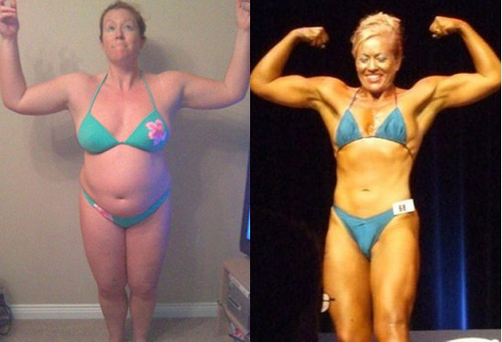 Fiona Mackenzie before and after.