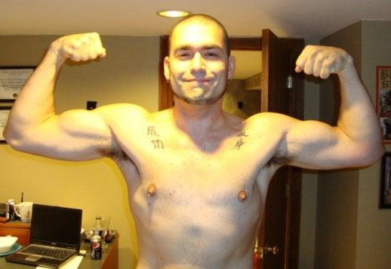 Ian Hartman After Transformation