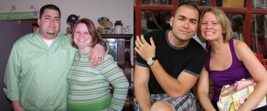Ian Hartman and Wife Before and After Transformation