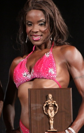 Johanna Chesser with trophy.