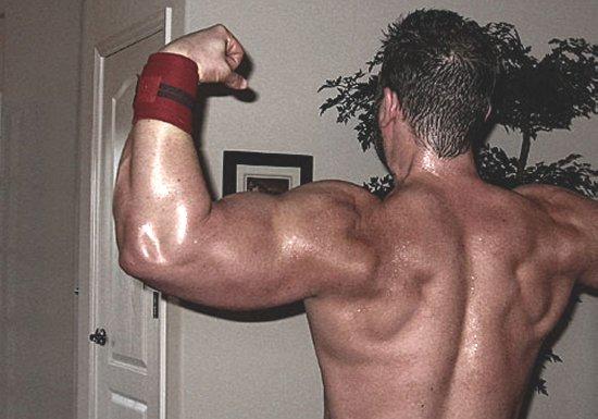 John Stone Muscular Back