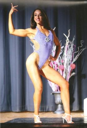 Melanie Blatt figure competitor