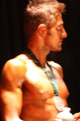Bodybuilder Michael Mitchell