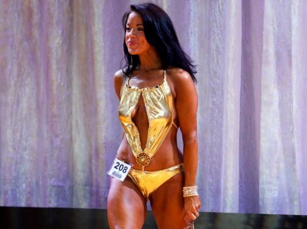 Shani Mojica, bikini competitor.
