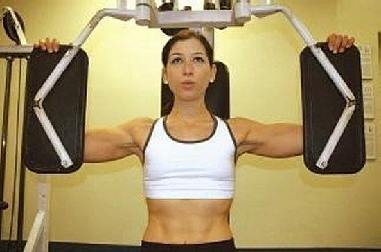 Stephanie Althea Workout Out
