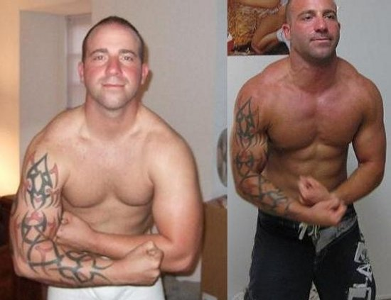 Steven Nestore Body Transformation