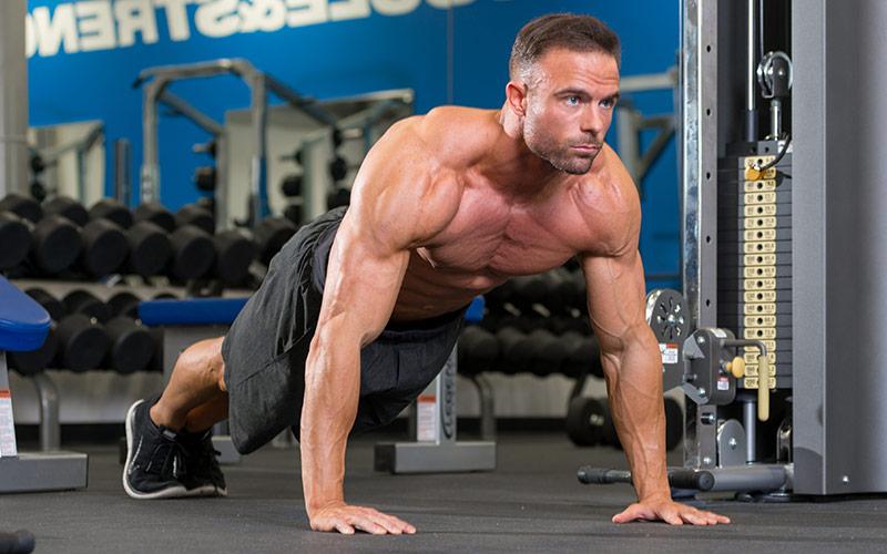 Ultimate Treadmill Workout Pushups