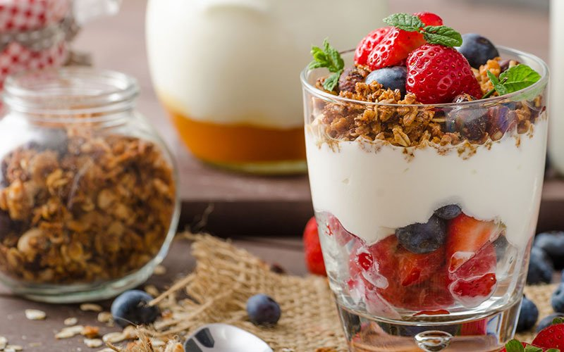 Dairy Myths Yogurt Parfait