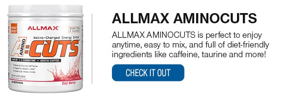ALLMAX Aminocuts Shop Now