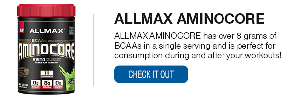 ALLMAX AMINOCORE Shop Now!