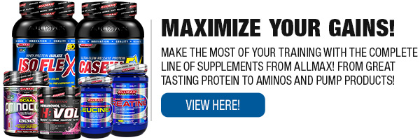 Full Line of AllMAX Supplements