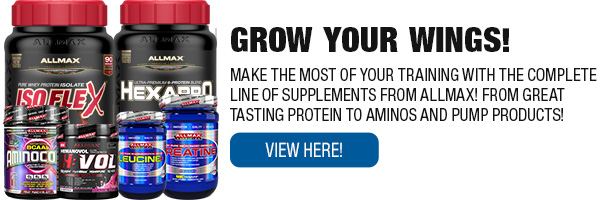 Complete Line of Allmax Supplements
