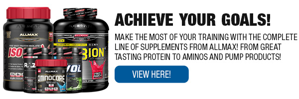 Complete Line of ALLMAX Nutrition