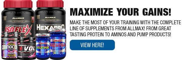 Full Line of Allmax Products