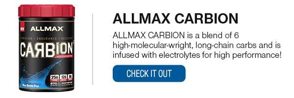 ALLMAX CARBION SHOP NOW!