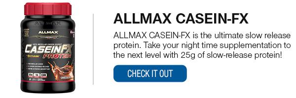 Allmax Casein FX Shop Now!