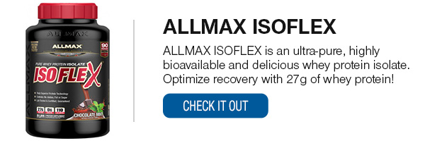 ALLMAX ISOFLEX Shop Now!