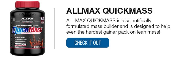 ALLMAX Quick Mass Shop Now!
