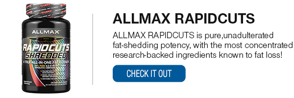 ALLMAX RAPIDCUTS Shop Now!