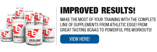Complete Line of Athletic Edge Supplements