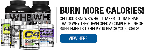 Full Line of Cellucor Supplements
