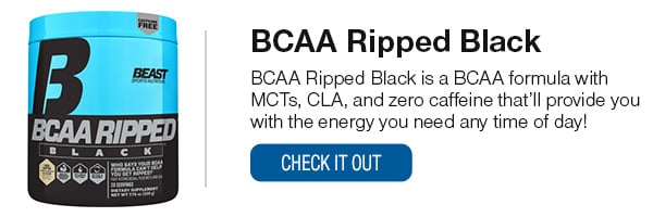 BCAA Ripped Black Shop Now!