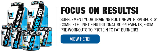 Complete Line of BPI Supplements
