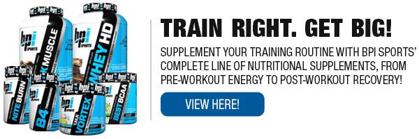 Complete Line of BPI Supplements