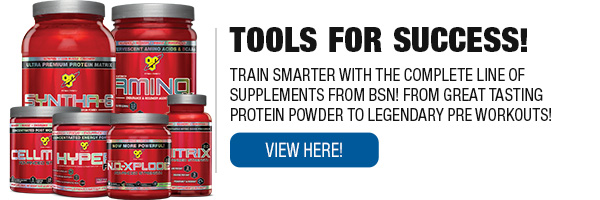 Full Line of BSN Supplements