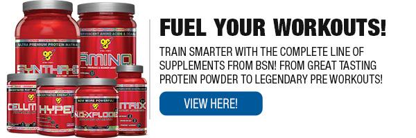 Complete Line of BSN Supplements