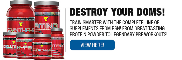 Complete Line of BSN Supplements
