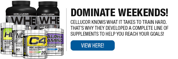 Full Line of Cellucor Products